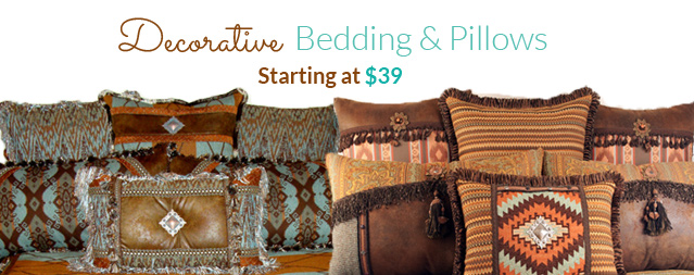 Western Bedding and Pillows
