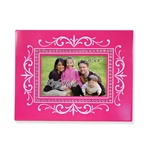 Pink and White Designer Frame