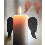 Rustic Iron Candle Wings