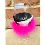 Cowgirl Wine Glass Koozies