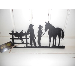 Cowboy & Cowgirl Wall Art