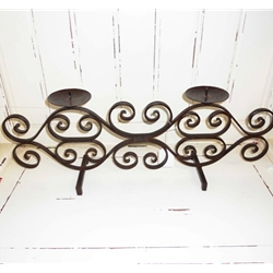 Iron Candle Holder-2