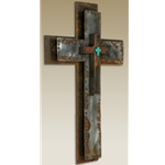 Small Hammered Cross