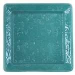 Turquoise Savannah Serving Plate Set
