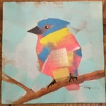 Bird Canvas (C)